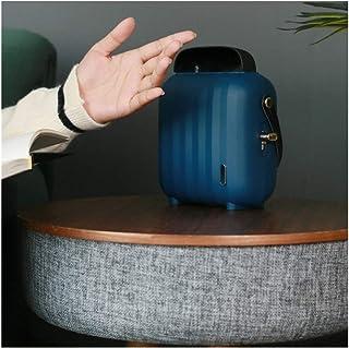 ZHAO YELONG Calentador,Calefactor Eléctrico Portátil Mini Ventilador Calentador De Oficina For Uso Doméstico Dormitorio (Color : Blue)