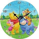 ALLdelete  Wall Clock Winnie The Pooh Weltrunde Wa