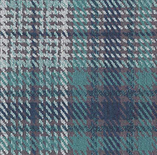 Joop! Stoff Polsterstoff Möbelstoff Bezugsstoff Meterware für Stühle, Eckbänke, etc. - Scottish Blau Kariert - Muster