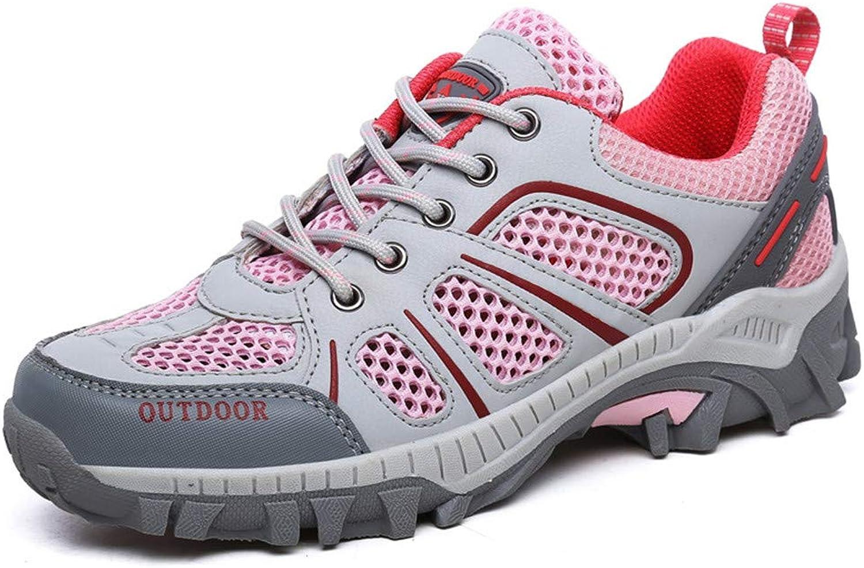 Brilliant sun Womens Hiking shoes Leather Outdoor Sports Trekking Climbing Running Walking