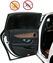 Car Side Window Sun Shade Sunshades for Baby 2pcs Protects Baby from Sun, Harmful UV Rays,Fits Big Cars, Big Trucks and Big SUVs (XL 49