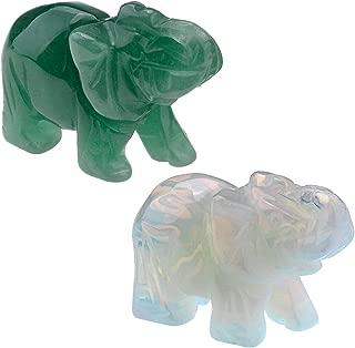 Best crystal elephant figurines Reviews