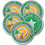 AttaCoin - 5 Coins - Employee, Coworker, Student, Office Staff Appreciation Gifts - Motivation and Recognition Award (5 Pack, Mastery)