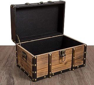 MAHFEI Boîte De Rangement Coffre Vintage De Rangement Coffre Au Trésor Boîte De Tri Accessoires De Photographie Stockage D...