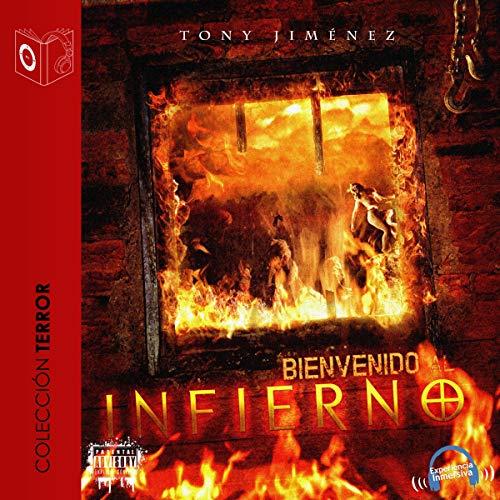 Diseño de la portada del título Bienvenido al infierno