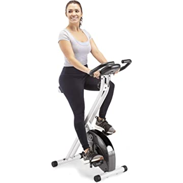 Marcy NS-652 Foldable and Portable Exercise Bike