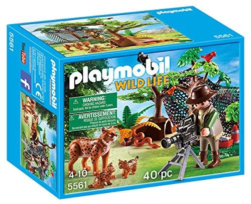 Playmobil 5561: Familia de lince y filmador