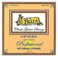 La Bella 500P Recording Concert/Clear Nylon+Tarnish Proof Wound