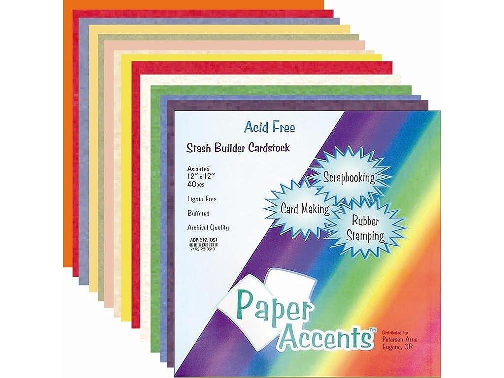 Accent Design Paper Accents ADPaperVarietyPk121220Assorted VarietyPk121220AstSB