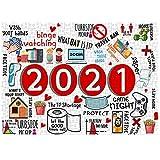 Bumen 2020 Adultos 500 Piezas Puzzle Niños Niños Adultos 2020 Rompecabezas Populares Especiales Juegos de desafíos conmemorativos Juguetes educativos Productos de decoración del hogar