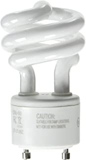 Feit Electric BPESL13T/GU24/2 900 Lumen Soft White Mini Twist GU24 CFL, Uses Up To 78% Less Energy, Compact Fluorescent, Average Life Up To 10000 Hours