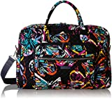 Vera Bradley Signature Cotton Weekender Travel Bag, Butterfly Flutter