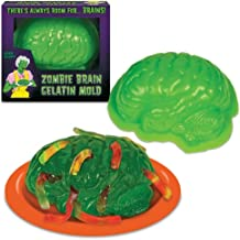 Zombie Brain Life Size Gelatin Jello Mold