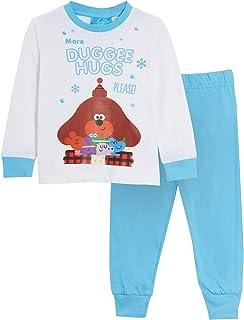 Hey Duggee Conjunto de pijama largo para niñas y niños