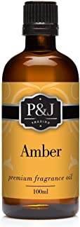 P&J Trading Amber Fragrance Oil for Candle Making, Soap Making, Slime, Diffusers, Home, and Crafts - 100ml