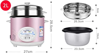 Olla arrocera 2L 3L 4L 5L Mantener la función cálida Calidad Premium Para hasta 15 personas Taza de medición de espátula interna de olla de oro blanco Arroz 2L