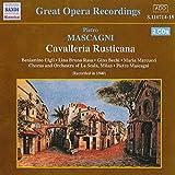 Mascagni: Cavalleria Rusticana (Great Opera Recordings)