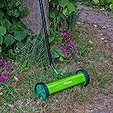 Woodside Manual 35cm Lawn/Grass Scarifier Aerator Rake with Non-slip Handle