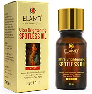 Ultra Brightening Spotless Oil, Hamkaw Dark Spots Removal Age Spots Hyper, Skin Care Stretch Marks, Potless Skin Brightening Oil for Women