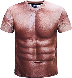Pizoff(ピゾフ) メンズ Tシャツ 半袖 面白 プリント オシャレ おもしろ 男女兼用
