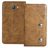 YLYH Flip Genuine Leather Wallet Phone Case For Alcatel A30