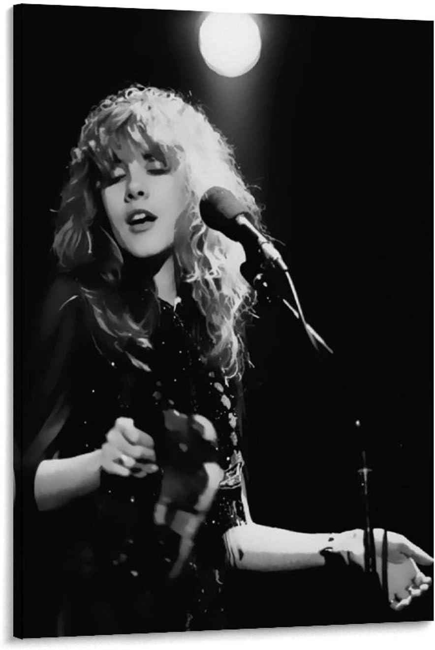 3 新商品 新型 Stevie Nicks Wall Poster Classic お歳暮 P Music Legend Celebrity Rock