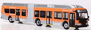 Iconic Replicas New Flyer Excelsior Bus Articulated LA Metro Bus-Los Angeles Metro Bus 1/87 Scale- HO Scale New! Limited Edition! Local