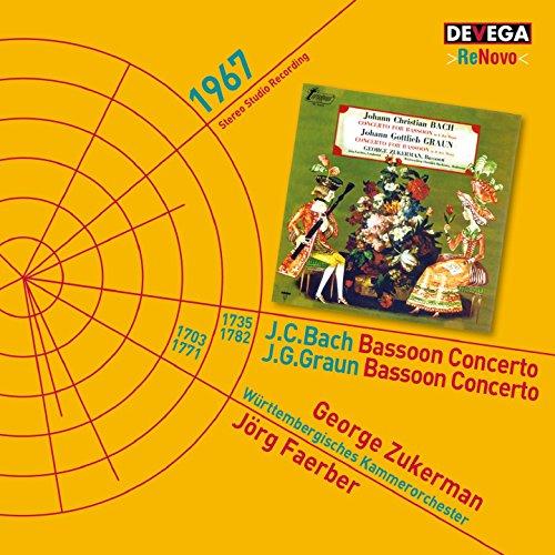 J. C. Bach & J. G. Graun: Bassoon Concertos