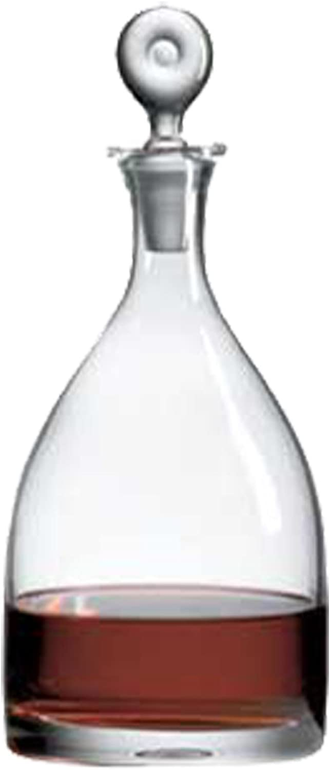 Ravenscroft Crystal Monticello Salmanazar Decanter