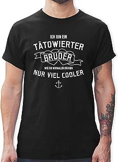 Life Is Pain M/änner Tank Top Tr/ägershirt Tattoo You pin up rockn roll Gr/össe S bis 8XL