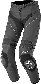 Alpinestars Women's Stella Missile Leather Pants (48) (BLACK/WHITE/FUCHSIA)