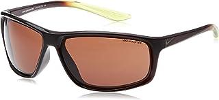 نظارة شمسية للرجال من نايك، لون بني، 66 ملم، نايك ادرينالين EV11