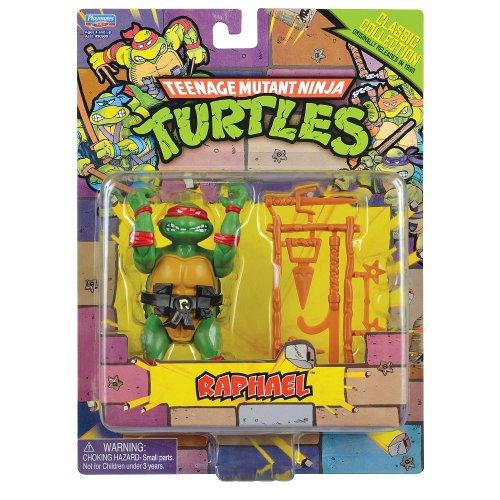 Teenage Mutant Ninja Turtles Classic Collection Raphael Action Figure 4 Inches