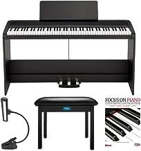 KORG B2SP 88-Key Digital Piano with Stand + 3 Pedal Unit bun