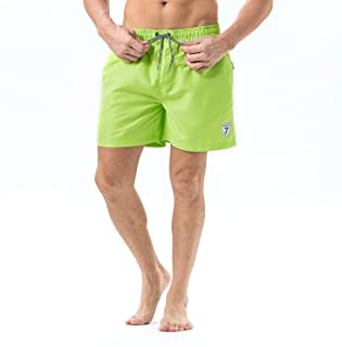 Men's Swim Trunks Quick Dry Swim Shorts for Men Swimsuits Shorts Board Trunks with Mesh Lining, Pockets for Boys