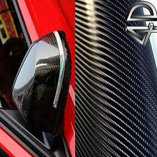 [13,14€/ m²] 50CM X 152CM AUTO MOTO FILM FEUILLE AUTOCOLLANT CARBONE 4D