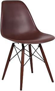 SuperStudio Lo + de Moda Wooden Color Edition Silla, Madera, Negro, 180x98x91 cm, 2 Unidades