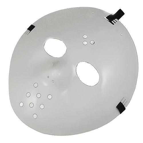 Loftus International Star Power Adjustable Jason Hockey Face Mask White One-Size Novelty Item