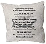 EricauBird Throw Pillow Cover-Jaws Movie Quote Pillow, Jaws Movie Decor, Jaws Quotes, Jaws Gift, Jaws Poster, Your Going to Need A Bigger Boat, Movie Jaws, Jaws Print,18x18