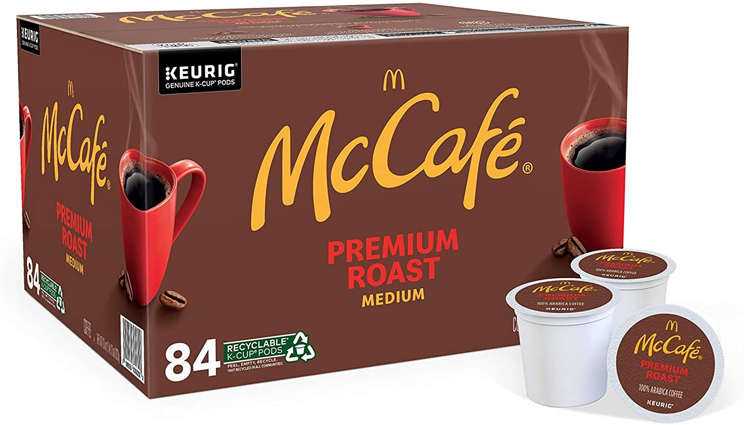 McCafe Premium Medium Roast K-Cup Coffee Pods