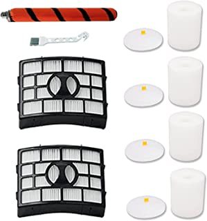 Amyehouse Replacement Brush Roll Hepa Foam Filters for Shark Apex DuoClean AZ1000 AZ1002 AX950 AX951 AX952 APEX DuoClean V...