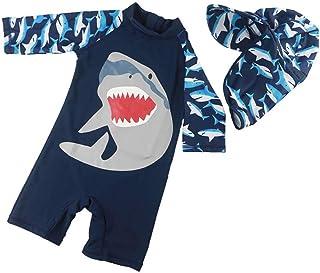 水着 男の子 ベビーガード スパイダーマン ワンピース水着 ジュニア 子供 かっこいい かわいい 海水パンツ 紫外線カット スイムウェア セット ラッシュガード 帽子 キッズ ベビー服 ラッシュ ジュニア