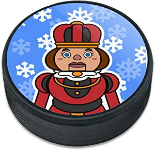 GRAPHICS & MORE Nutcracker Woman with Snowflakes Ice Hockey Puck