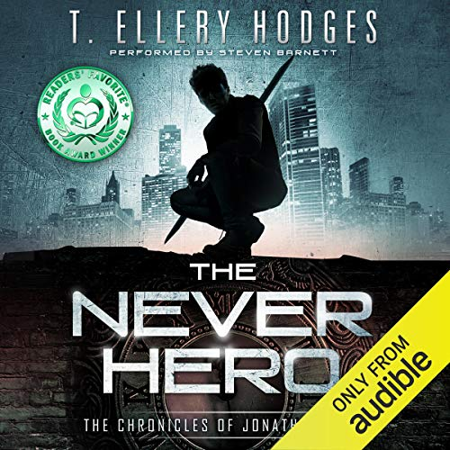The Never Hero  By  cover art