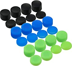 24 Pieces Thumb Grips Silicone  Analog Stick Covers Anti-slip Joystick Controller Caps for Xbox One