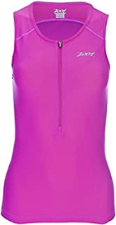 Zoot Sports Women's Active Tri Mesh Tank, X-Small, Pink