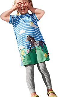 M180e Fashion Girl S/ü/ße M/ädchen Jeans Stretchjeans Hose mit rundum Gummizug