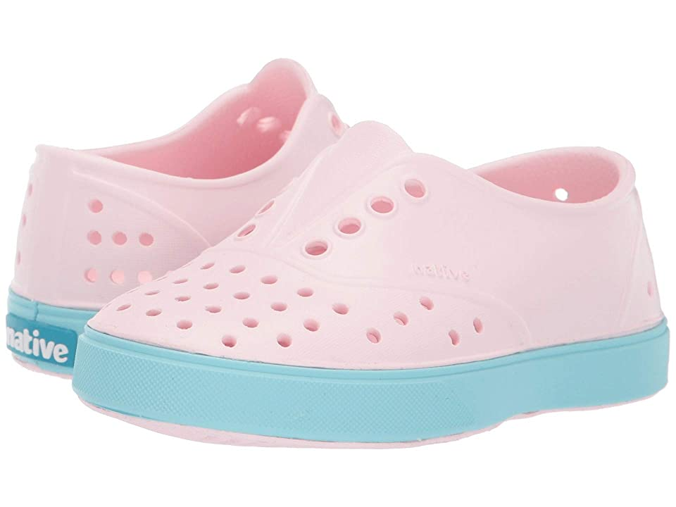 Native Kids Shoes Miller (Toddler/Little Kid) (Blossom Pink/Hydrangea Blue) Girl