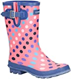 Cotswold Womens Paxford Mid Height Printed Wellington Boots