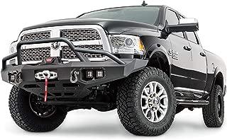 WARN 100473 Ascent Front Baja Tube Guard: Chevrolet Silverado HD 2500/3500 (2015-2018), Dodge Ram HD 2500/3500 (2015-2018)